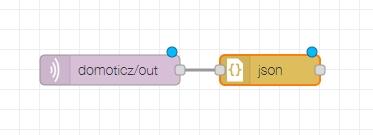 nodered json node