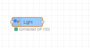 nodered nora node connected