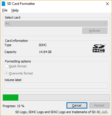 Raspberry Pi Installeren Formatteren Sd Kaart